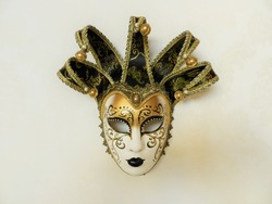 Black and gold mask, Venice carnival