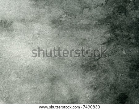black and gray abstract watercolor background