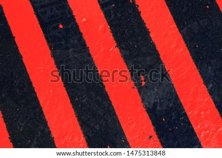 Black and red road surface, texture. Background, surface.