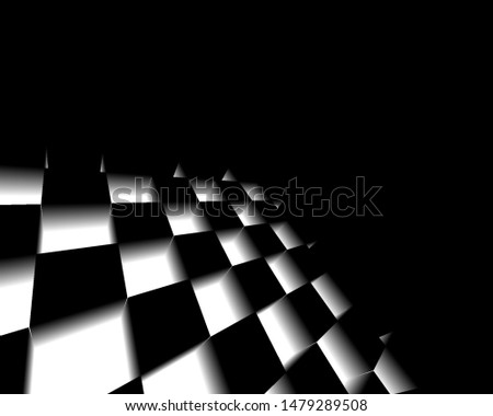 Black and white abstract textured background, Geometric lines monochrome with gradient, use for desktop wallpaper or website design, template background with copy space.-Illustration #1479289508