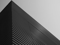 black and white architecture building wall design pattern
