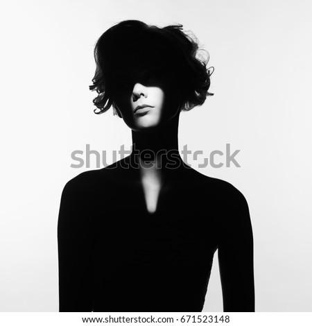black and white art fashion...