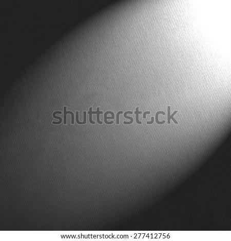 black and white background canvas paper and beam of spot light