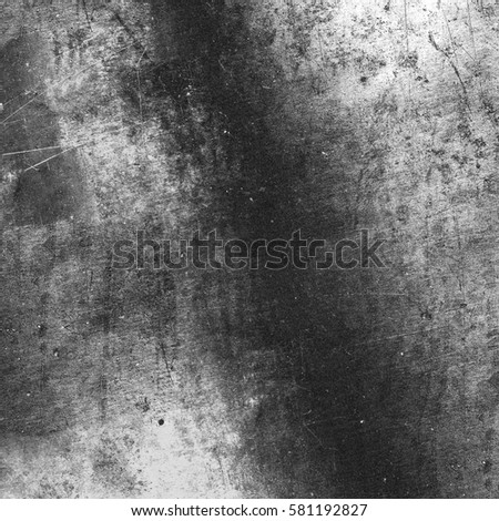 Black and white background. Grunge texture #581192827