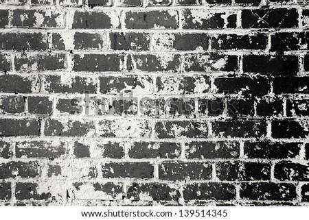 Background Black And White Brick Black And White Brick Wall