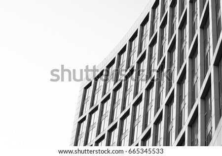 black and white city architecture