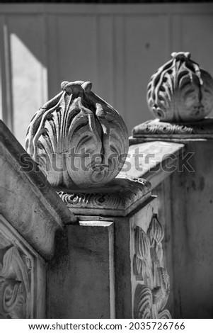 Black and white design arhitecture Imagine de stoc ©