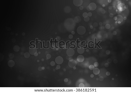Black and White from my idea of soft bokeh abstract background - Shutterstock ID 386182591