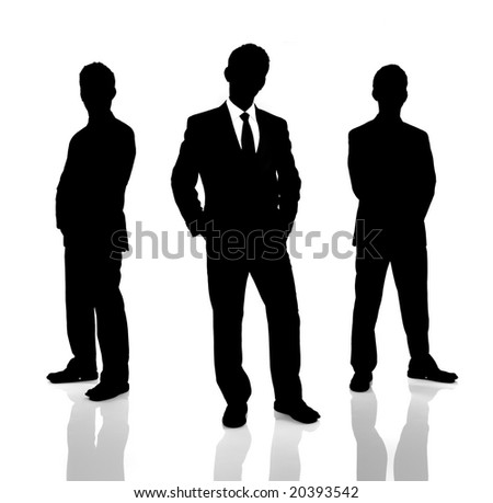 black and white pictures of people. stock photo : lack and white