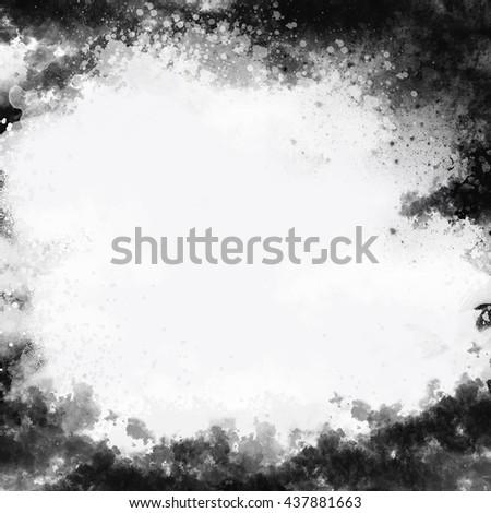 Black and white grunge background #437881663