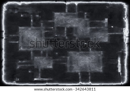 black and white grunge background with texture #342643811