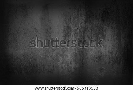 Black and white grunge urban texture with copy space. Abstract surface dust and rough dirty wall background or wallpaper with empty template for all design. Distress or dirt and damage effect concept - Shutterstock ID 566313553