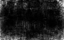 Black and white grungy wall scratch old weathered effect stucco texture background gritty