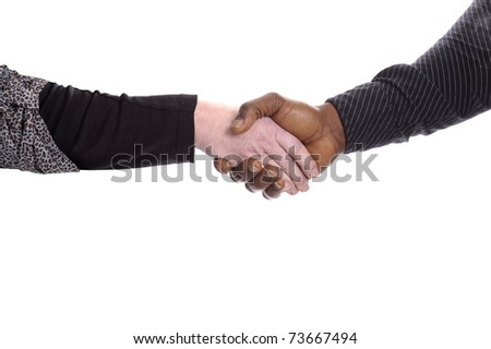 stock photo black and white hand of mature man and woman giving a handshake isolated on white background 73667494 stock photo : black and white hand of mature man and woman giving a ...