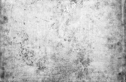 black and white industrial art texture background with spots and  scratches and rust