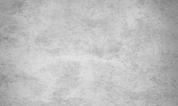 Black and white loft atmospheric concrete wall texture  use for wallpaper or background. White plaster.