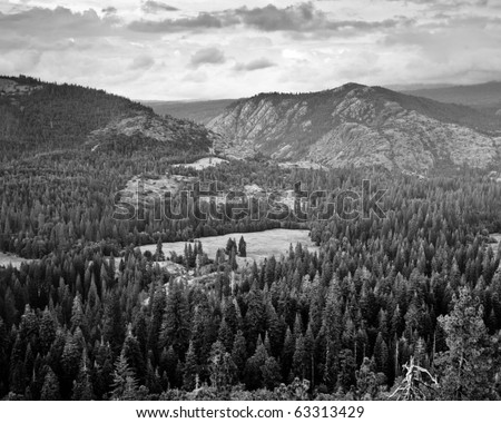 Black and White mountains, Northern California