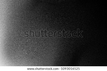Black and white noise texture background Foto stock ©