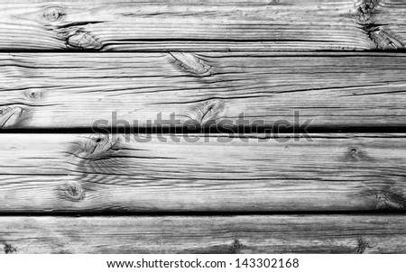 Black and White of  wood texture. Abstract background
