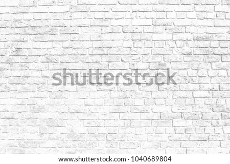 black and white old brick wall texture background for your text or decoration