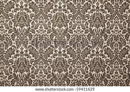 black and white pattern wallpaper. photography with uniform illumination. Vintage style