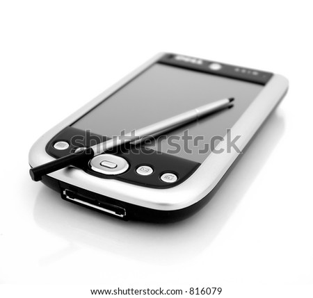 Black and White Pocket PC