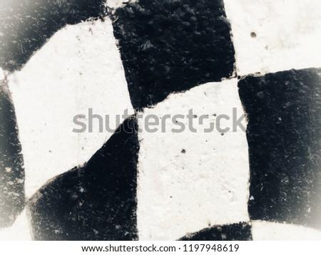 Black and white rhombus photography  #1197948619