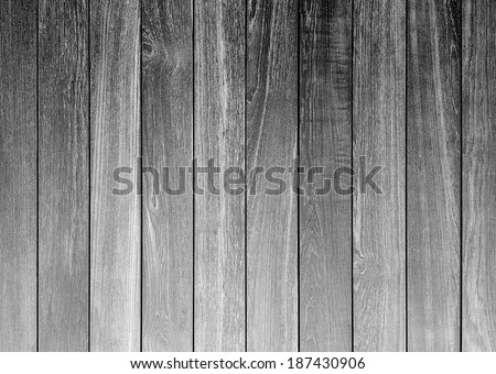 black and white rough wood plank abstract for background