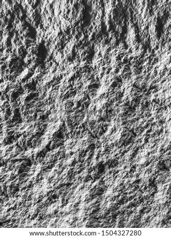 Black and white stone texture