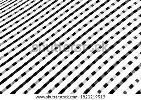 black and white stripes, linear texture background stock photo