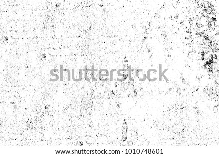 Black and white texture in art style. Fantastic monochrome background. Pattern from the chaos of dots, spots, lines, cracks. Grunge dark surreal #1010748601