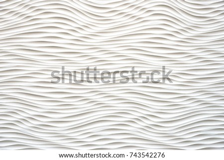 black and white wave looking abstract repetitive pattern #743542276