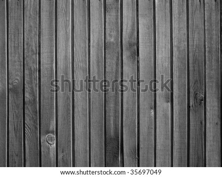 black and white wooden wall