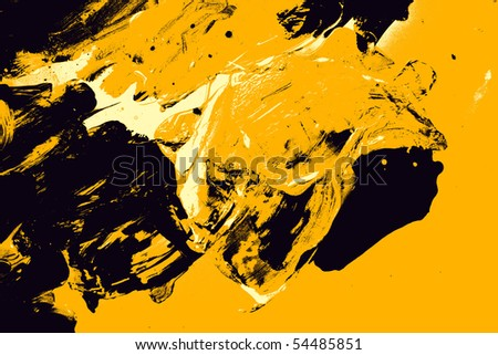 black and yellow abstract background