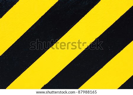 Black and Yellow Stripes