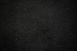 Black asphalt floor or road texture background. Black small stone floor texture background.
