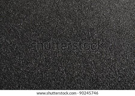Black asphalt texture.