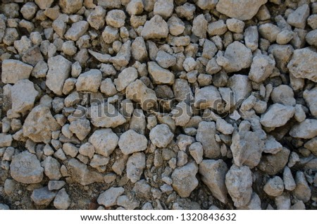 Black asphalt texture. View from the top. Small stones surface background. #1320843632
