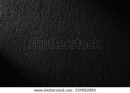Black background. Grunge textured background