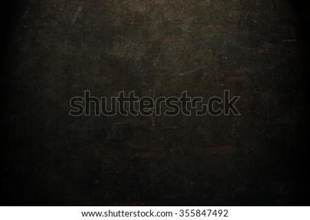 Black background. Horror. Grunge textured wallpaper