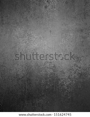 black background or luxury gray background abstract white center light and vintage grunge background texture, black and white background for printing monochrome brochure, web ad, elegant dark color