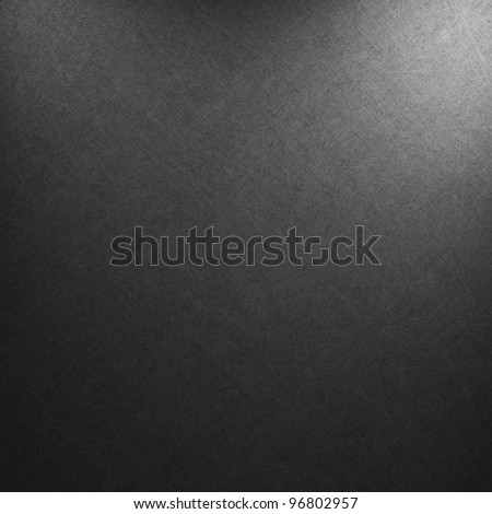black background or luxury gray background abstract white corner light and vintage grunge background texture, black and white background for printing monochrome brochure, web ad, elegant dark gradient - stock photo