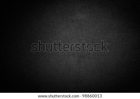 Black background or texture with spotlight