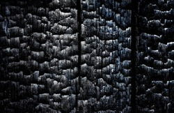 black background, texture, baked wood
