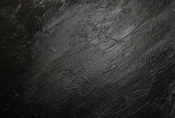 Black background texture. Broad brushstrokes. Painting touche. Abstract texture. Abstract background