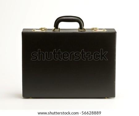 black bag on white background