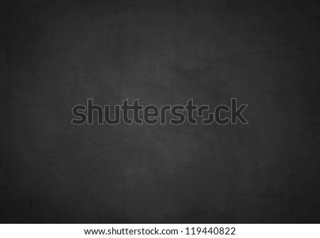 Black blank chalkboard for background