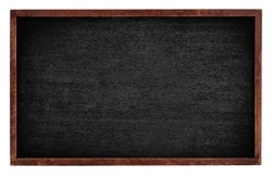 Black board isolate on white background
