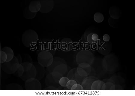Black Bokeh, Abstract black bokeh background #673412875