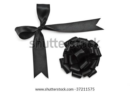 Black bows for design